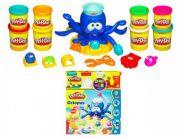 """Набор Play-Doh """"Осьминог, пластилин+ бонус 4 банки пластилина 520г"""" Hasbro"""