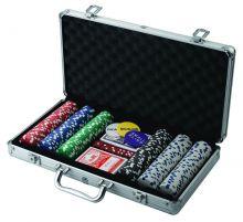 Набор для покера Poker Stars 300 фишек, DVD, кейс