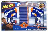 Бластер Nerf Triad EX-3 2-pack Игровой набор 2 в 1 Hasbro