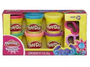 Play-Doh Набор Sparkle пластилин с блестками Hasbro